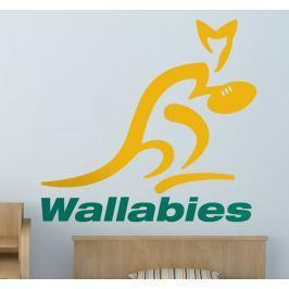 Sticker logo Wallabies Australie