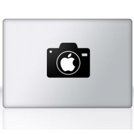 Sticker mac apple appareil photo