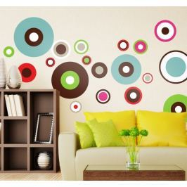 Sticker multiples cercles concentriques