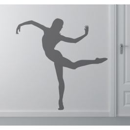 Sticker silhouette danse contemporaine