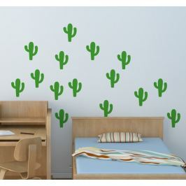 Sticker set cactus