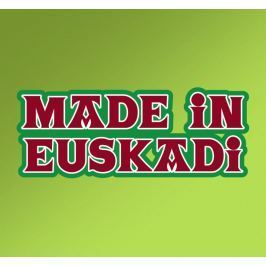 Sticker pays basque made in Euskadi