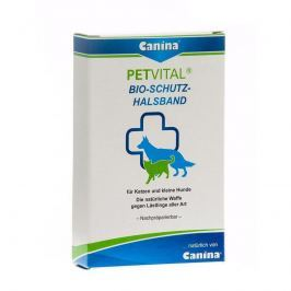 Colliers anti-puces et anti-tiques Canina Pharma Petvital Bio-Protective-Collar