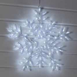 Flocon de neige LED blanc brillant
