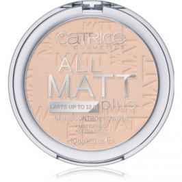 Catrice All Matt Plus poudre matifiante teinte 010 Transparent 10 g
